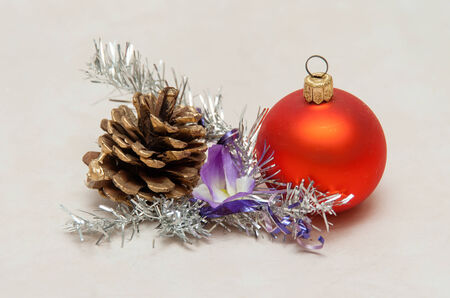 christmas ornaments: Christmas ornaments Stock Photo
