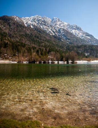 gora: Jasna lake, Kranjska gora, Slovenia