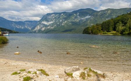 bohinj: Bohinj lake, Slovenia