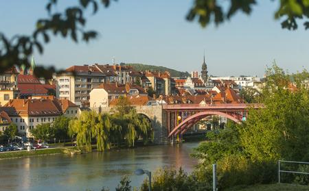 Maribor town, Slovenia Standard-Bild