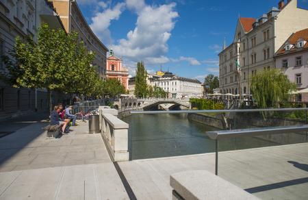 ljubljana: Ljubljana, center, Slovenia
