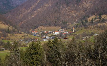 Tuhinj valley, Slovenia Reklamní fotografie