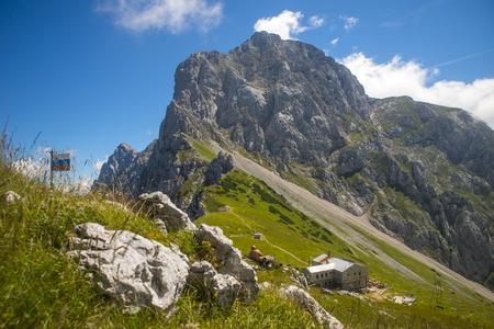 Kamnik saddle, Kamnik Savinja alps, Slovenia