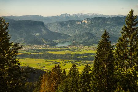 View from zirovniska mountain, Slovenia
