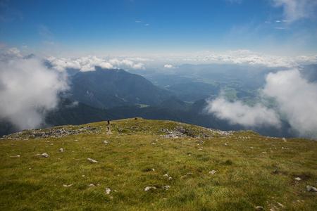 karavanke: Stol mountain, Karavanke, Slovenia Stock Photo