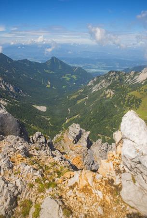 karavanke: Stol mountain, view on Austria, Slovenia