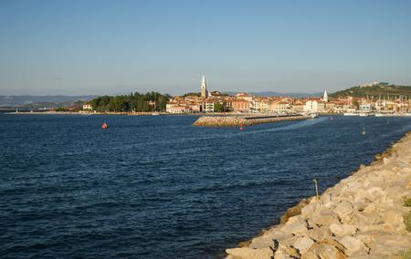 Izola town, adriatic coast, Slovenia