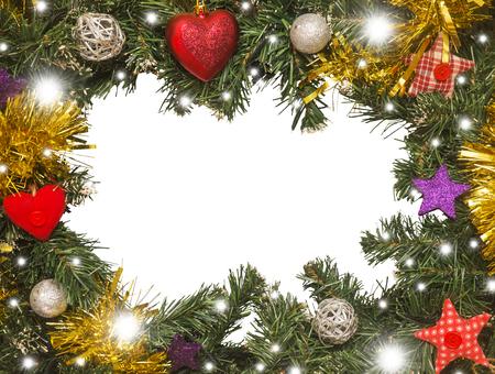 Christmas frame, decoration