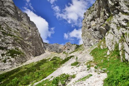 Kokrsko saddle with Grintovec mountain, Slovenia Reklamní fotografie