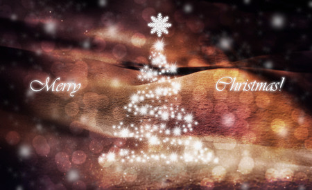 Merry christmas greeting card Stock Photo - 91375974