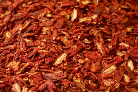 Dried tomatoes background Reklamní fotografie