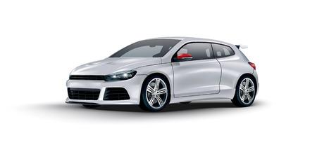course de voiture:  voiture de sport concept