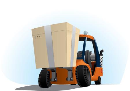 plastik: autoloader with a big box