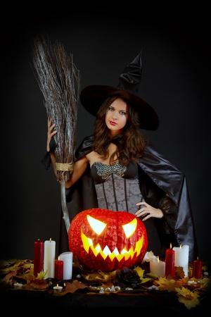 cauldron: Halloween witch