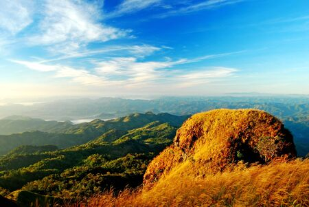 Mountain in Meahongson Thailand Stock Photo