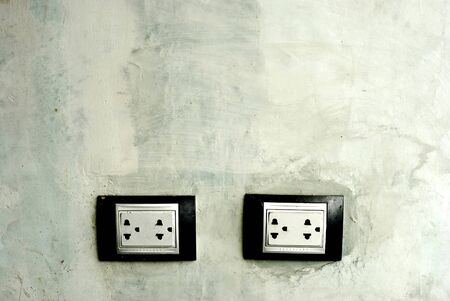 Old Socket in Thailand photo