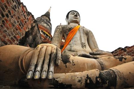 Buddha Ayutthaya Thailand photo
