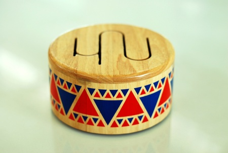 Toy Drum in Thailand photo