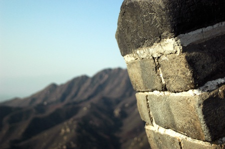 The greatwall of China Stock Photo - 15362940