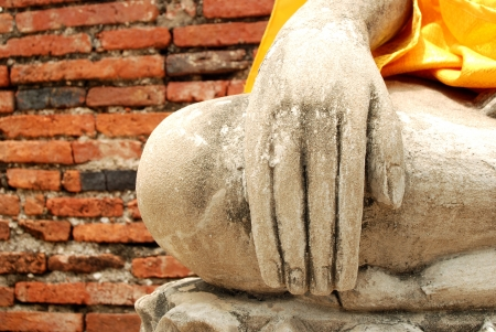Hand of Buddha in Thailand photo
