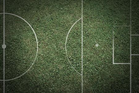 Voetbalsportvoetbal voor spel en voor tekst en berichtontwerp Stockfoto