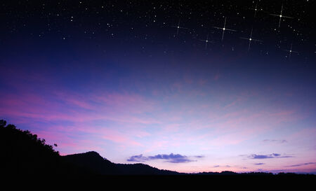 purple stars: sunset sky star background light sunrise nature for design