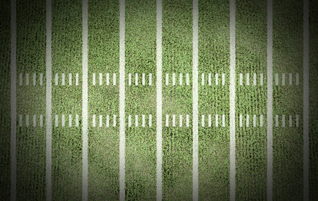 american football field line score match championship background game old stadium yard for design