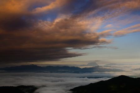 hight: Hight land mountain landscape nature background Stock Photo