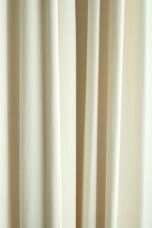 white curtain: White curtain texture background pattern for design Stock Photo