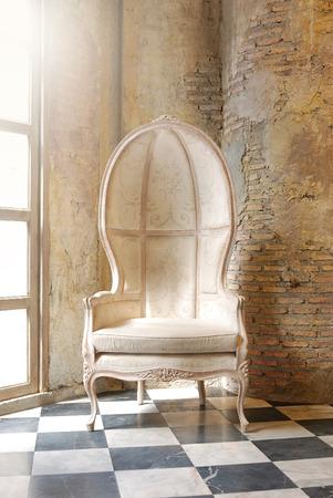 vintage chair: Vintage chair at vintage interior for vintage design