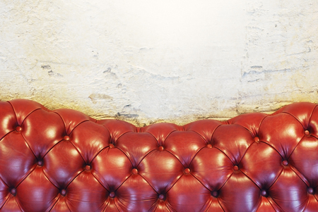 Sofa texture background brown color for artwork design Stock Photo
