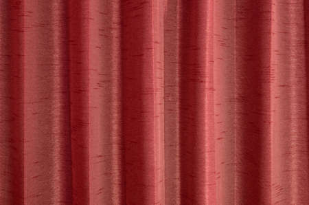 patched: red curtain texture background with space for design