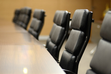 Konferenční místnost pro obchodní koncept a design