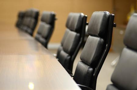 pizarra: Sala de reuniones para el concepto de negocio y dise�o Foto de archivo