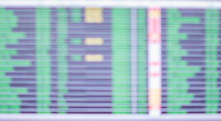 Passenger board blurred defocus background
