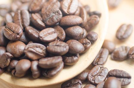 Koffieboonzaad grondstof voor koffie drinken