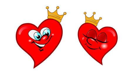 Liebe Herzen Vektor-Bild Vektorgrafik