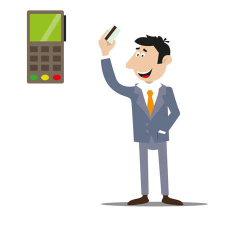 payment of goods and services by credit card. electronic money