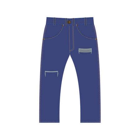fashion jeans illustration