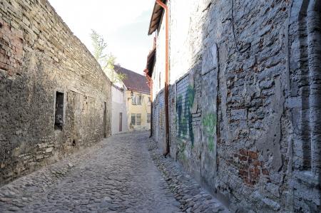 tallin: Ancient street in Tallin