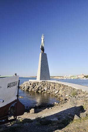 nicholas: Statue of Saint Nicholas in Nessebar, Bulgaria