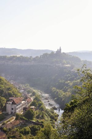 tarnovo: View from Veliko Tarnovo, medieval town in Bulgaria