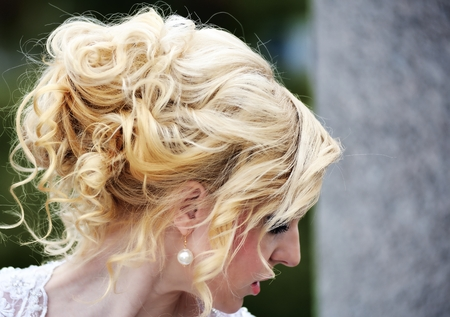 wedding hairstyle: Beauty wedding hairstyle