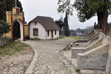 orthodox: New Afon orthodox monastery, Abkhazia