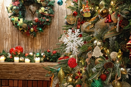 Christmas and New Year interior