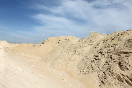 humid: A warm sunny day in a dry humid Arabian dessert