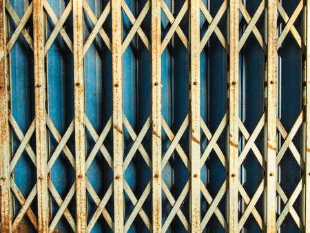 corrode: door steel Stock Photo