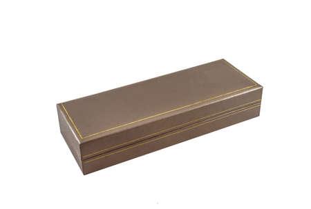 白い背景のためペン バックスを与える 写真素材