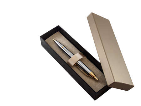 GLOD: The pen in box on white background