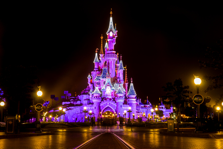 Sleeping Beauty Castle, Disneyland París